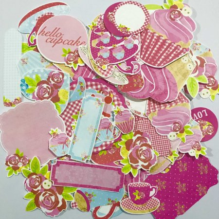Die-cuts Tea Party - Kaiser Crafts