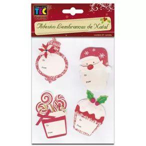 Adesivos Lembranças de Natal - Doces - Toke e Crie