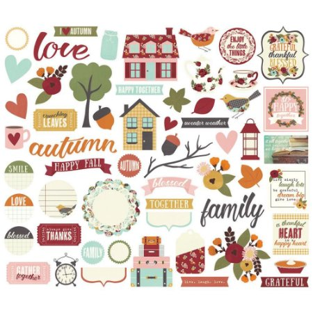 Die Cuts - Bits And Pieces - Vintage Blessing - Simple Stories