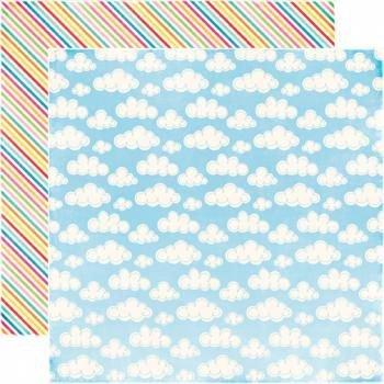 Papel Scrapbook - Blue Sky - Echo Park