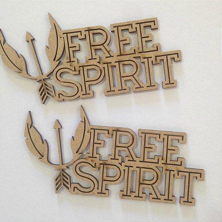 Apliques em MDF Free Spirit - Arte Fácil