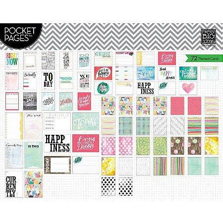 Cards tema  Journal 72 peças - MAMBI