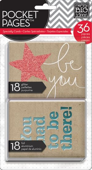Kit de Cards com FOIL This is my Life 36 peças - MAMBI