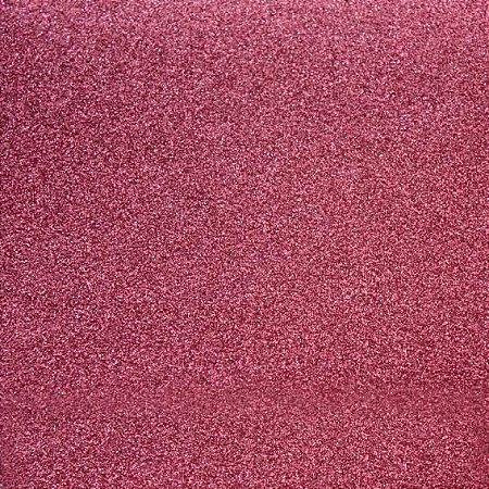 Papel 30x30 puro glitter Rosa Coral - Toke e Crie