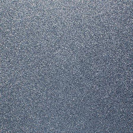 Papel 30x30 puro glitter Grafite - Toke e Crie