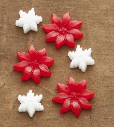 Apliques de plásticos Flores e Flocos - Making Memories