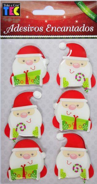 Adesivo Encantado 3D - Natal Papail Noel - TEC