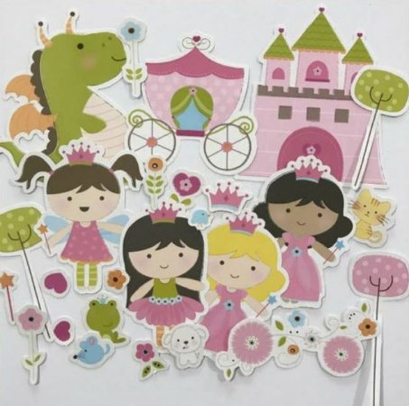 Die Cuts - Princesa - Make a Wish - Imaginisce