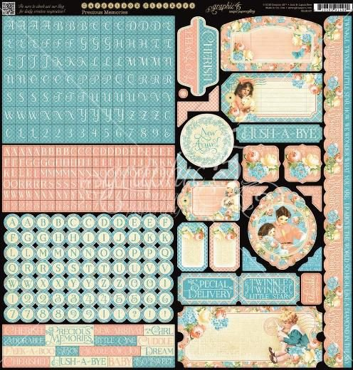 Adesivo 30x30 Precious Memories Graphic 45