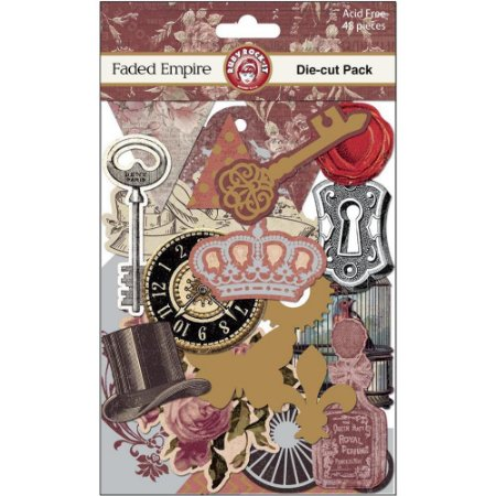 Die Cuts - Faded Empire - Vintage - Costura- Ruby Rock