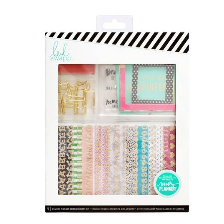 Memory Keeping Embellishment Kit - Heidi Swapp (super kit)