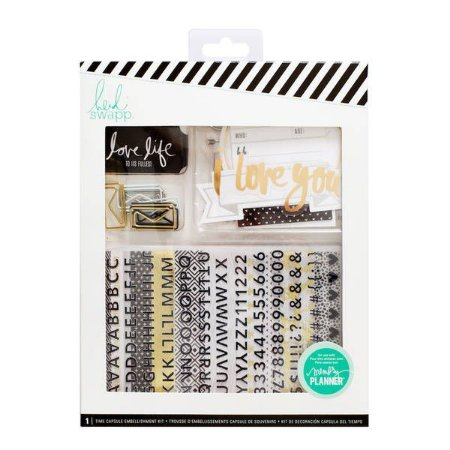 Memory Keeping Embellishment Kit Tim Capsule - Heidi Swapp (super kit)