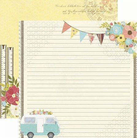 Papel Scrapbook - Minha Família - Passeio - Toke e Crie