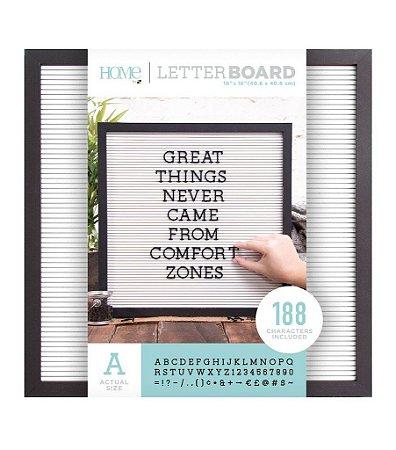Quadro de mensagens - Letter Board - DCWV