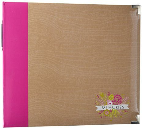 Álbum para scrapbook Grande 30x30 Playful - Project Life - American Crafts