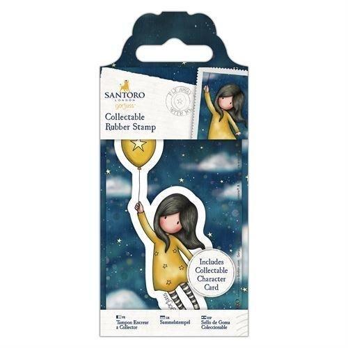Carimbo Mini- Gorjuss - Fly Away with me - N. 45