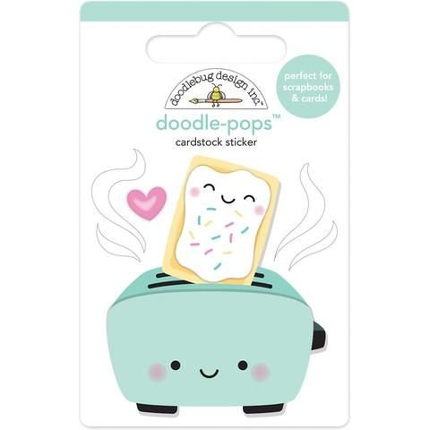 Adesivo 3D Torradeira - Toaster Time - Doodlebug