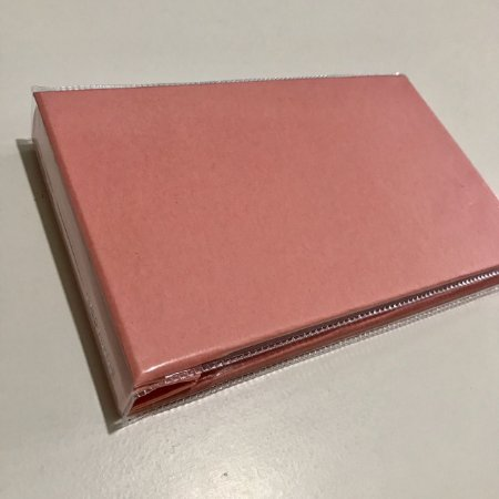 Álbum pequeno de scrapbook liso para 36 fotos 10x15 Rosa bebê - Paperchase