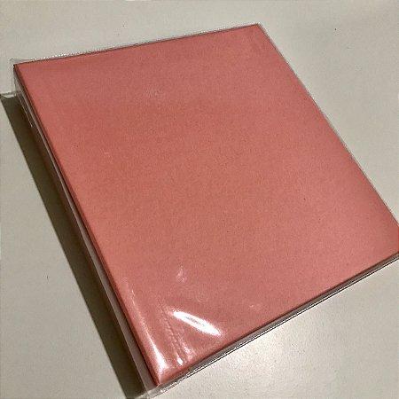 Álbum médio de scrapbook liso para 200 fotos 10x15 Rosa bebê - Paperchase