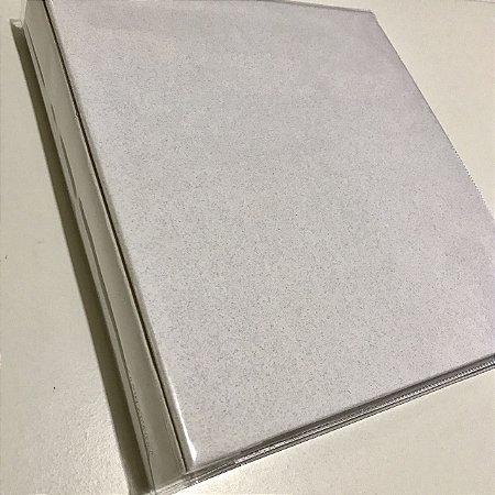 Álbum médio de scrapbook liso para 200 fotos 10x15 Branco Gelo - Paperchase