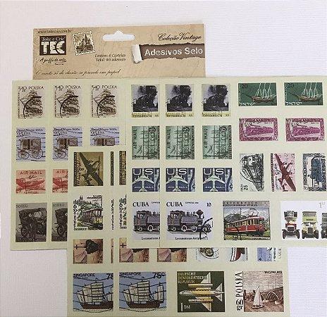 Adesivo Selo - Coleção Vintage - TEC