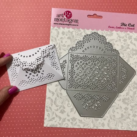 Faca de corte Envelope FAC082 - Art e Montagem