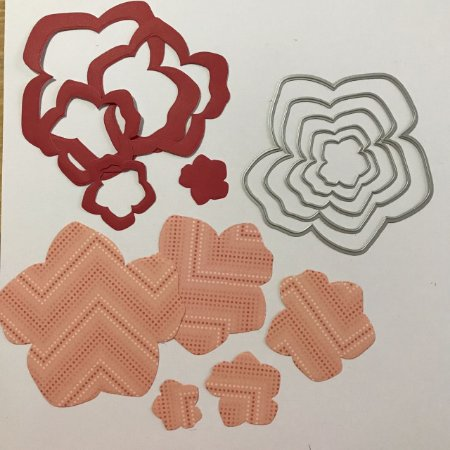 Kit de facas de corte Flores FAC067 - Art e Montagem