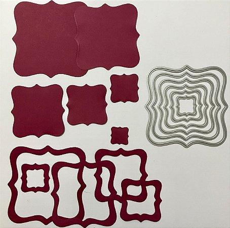Kit de facas de corte Molduras 6 peças FAC031 - Art e Montagem