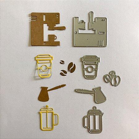Kit de facas 5 peças Café FAC043-A - Art e Montagem