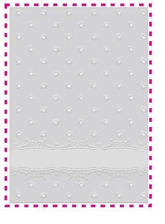 Placa de emboss A6 Cartão - Art & Montagem