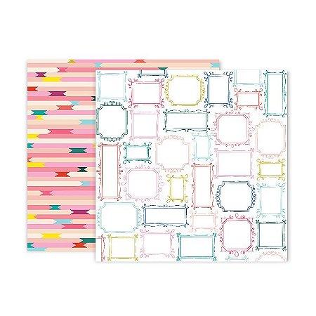 Papel scrapbook 30x30 19 Pick me up - Paige Evans -  Pink Paislee