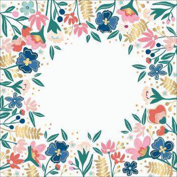 Papel Acetato com FOIL 30x30 Pick me up - Paige Evans -  Pink Paislee
