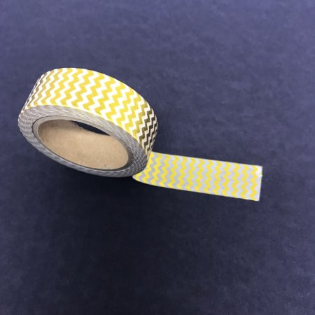 Washi tape Chevron com Foil  - Importado