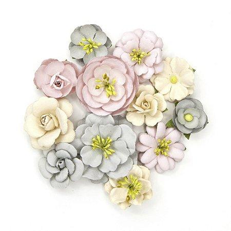 Flores Giana Lavender com 12 peças Prima