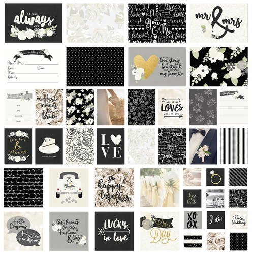 Kit de cards 48 peças Always and Forever Simple Stories