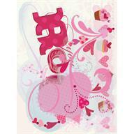Embalagem de figuras em acetato Amor, K& Company