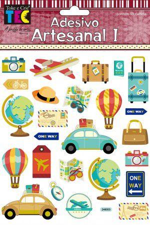 Adesivo Artesanal I Turismo TEC