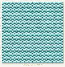 Papel de Scrapbook 30,5x30,5 cm - Face Simples - Teals Triangle  - My Minds Eye