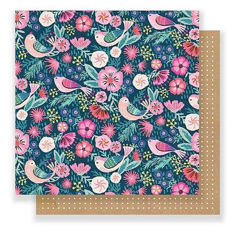 Papel Scrapbook - 30x30 - All Good - Good Vibes - Crate Paper