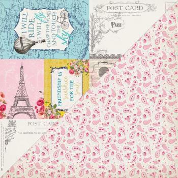 Papel Scrapbook - 30x30 - Dame Seven - Authentique