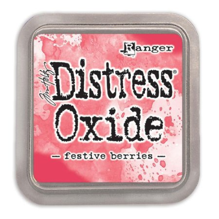 Carimbeira Distress Oxide - Tim Holtz - Ranger - Festive