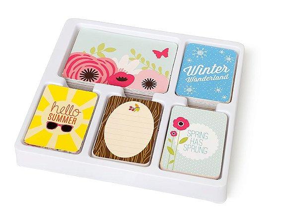 Kit de cards - Core Kit - All Seasons - Project Life