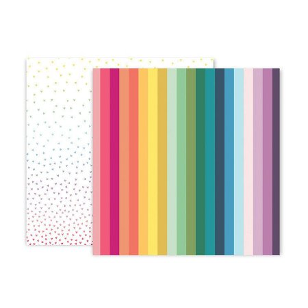 Papel scrapbook 30x30 Whimsical - #16 - Paige Taylor Evans - Pink Paislee