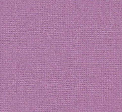 Papel de Scrapbook 30,5x30,5 cm - Cardstock  - Orquídea - Lilás -  Toke e Crie