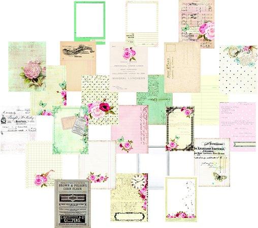 Kit com 24 cards - Linha Minhas Memórias - Dany Peres