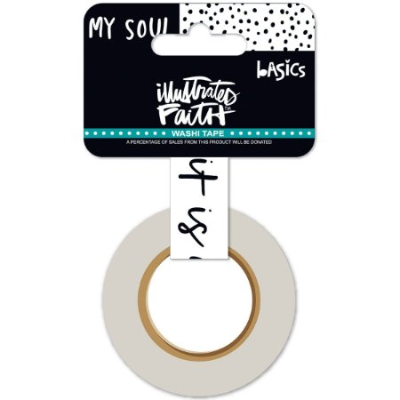 Washi tape - Illustrates Faith - Well With my soul - Bella Blvd