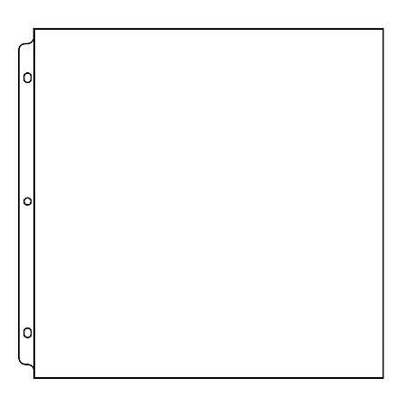 Refil plástico para álbum de scrapbook 30,5 x 30,5 liso - We R