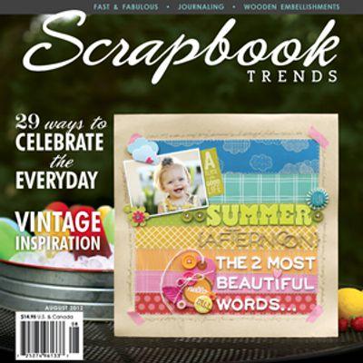 Revista Scrapbook - 20x20 - Inglês