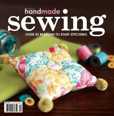 Revista Sewing (Costura) - 20x20 - Inglês