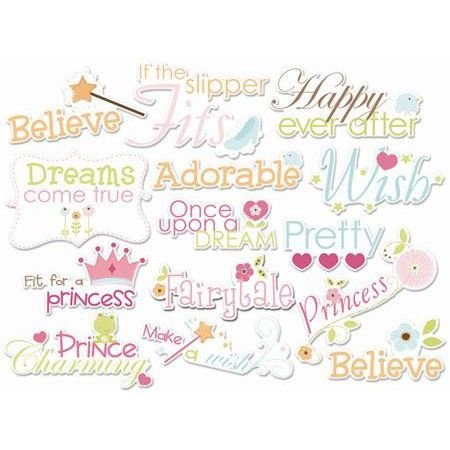 Die Cuts Palavras e Frases - Enchanted - Princesa - Imaginesce